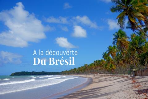 La plage de Cuera sur l'ile de Boipeba
