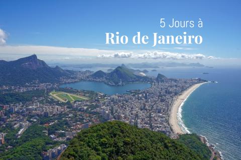 La plus belle vue de Rio depuis Morro dois Irmãos