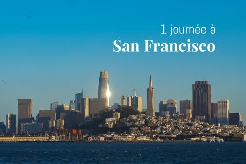 La skyline de San-Francisco vue depuis Alcatraz