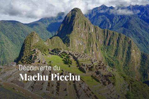 Vue sur le Machu Picchu et le Huayna Picchu